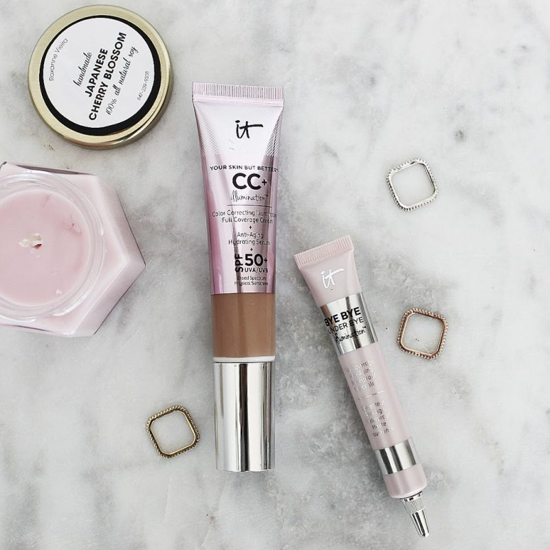 IT Cosmetics CC Cream & Bye Bye Under Eye Concealer