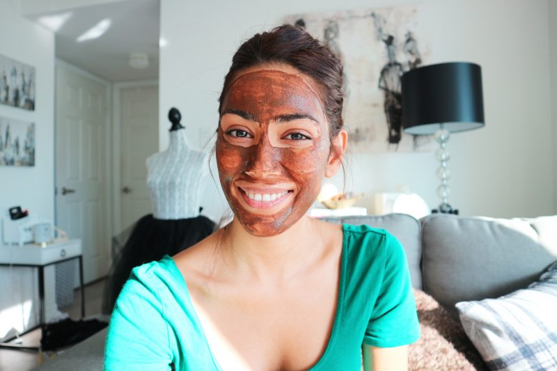 AT HOME FACE MASK