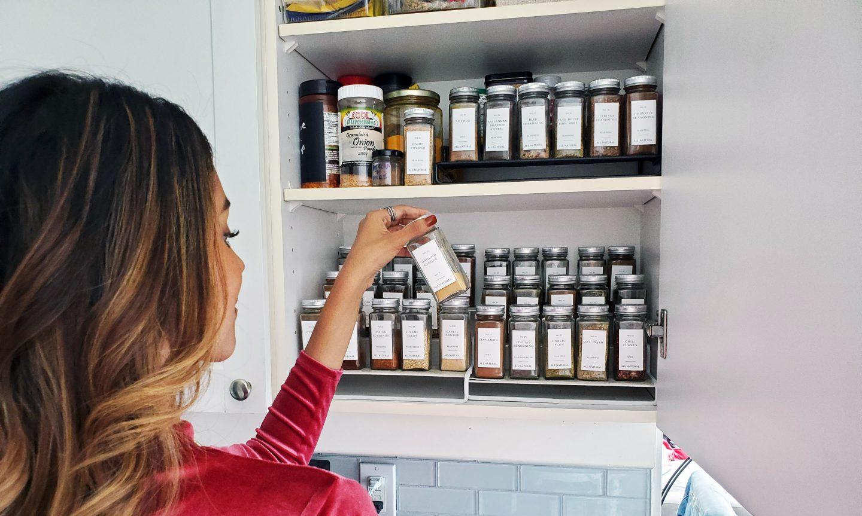 Kitchen Gadgets. Spice Jars