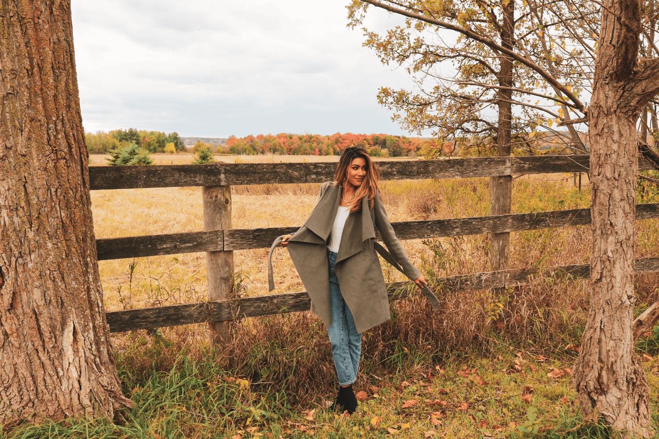 fall coat - ever new