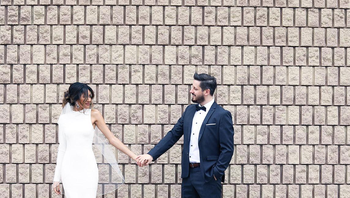 we got married