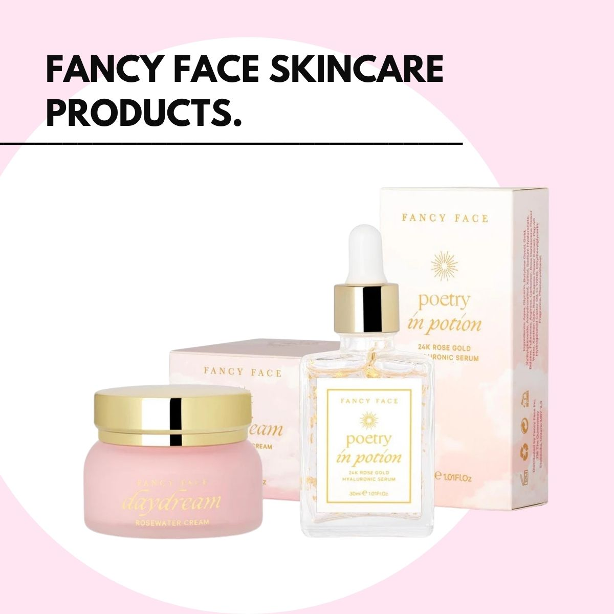 gifts for yourself - fancy face skincare
